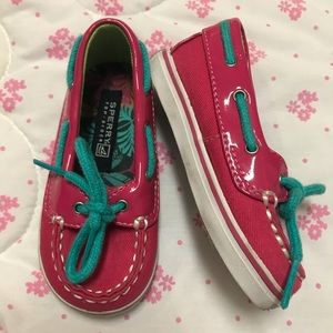 Infant Size 4 Sperry Top-Sider Biscayne Crib Shoe